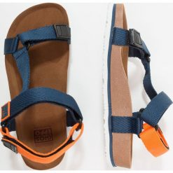 Gioseppo Sandały marino/naranja. Niebieskie sandały chłopięce Gioseppo, z materiału. Za 139,00 zł.
