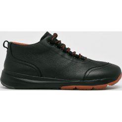 Camper - Buty. Czarne buty skate męskie Camper, z gumy, na sznurówki. W wyprzedaży za 539,90 zł.