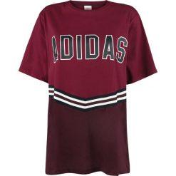 Adidas Adibreak SS Tee Koszulka damska burgund. Czerwone bluzki nietoperze Adidas, l, z nadrukiem, z dekoltem na plecach. Za 164,90 zł.