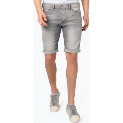Diesel - Spodenki męskie – Calzoncini, szary. Niebieskie spodenki jeansowe męskie marki Diesel. Za 449,95 zł.
