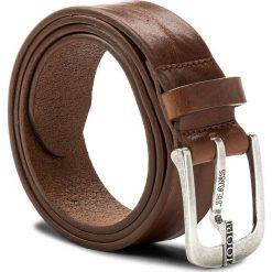 Pasek Męski JOOP! - JEANS 7622 100 Cognac A03. Brązowe paski męskie JOOP!, w paski, z jeansu. W wyprzedaży za 249,00 zł.