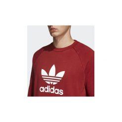 Bluzy adidas  Bluza z zaokrąglonym dekoltem Trefoil. Czerwone bluzy męskie rozpinane marki KALENJI, m, z elastanu, z długim rękawem, długie. Za 249,00 zł.