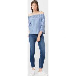 Mango - Jeansy Noa1. Niebieskie jeansy damskie marki House, z jeansu. W wyprzedaży za 59,90 zł.