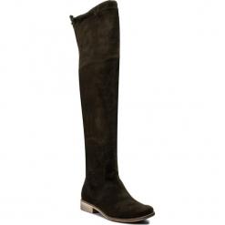 Muszkieterki SERGIO BARDI - Argigento FW127264717JN 915. Zielone buty zimowe damskie Sergio Bardi, z materiału, na obcasie. W wyprzedaży za 259,00 zł.