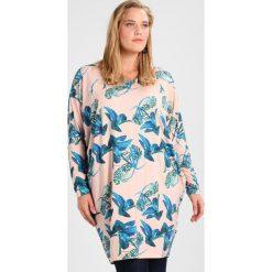 Bluzki asymetryczne: ADIA OVERSIZE PRINT WITH FLOWERS Bluzka z długim rękawem rose smoke