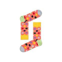 Skarpetki Happy Socks BDO01-2001. Czerwone skarpetki męskie Happy Socks, z bawełny. Za 24,43 zł.