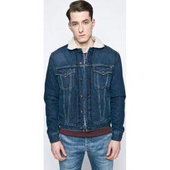 Pepe Jeans - Kurtka. Niebieskie kurtki męskie jeansowe marki Reserved, l. W wyprzedaży za 419,90 zł.
