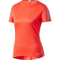 Adidas Koszulka damska Response Short Sleeve Tee W różowa r. L (BP7460). Szare topy sportowe damskie marki Adidas, l, z dresówki, na jogę i pilates. Za 126,70 zł.