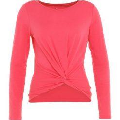 GAP TWIST FRONT  Bluzka z długim rękawem rosehip. Czerwone bluzki damskie GAP, l, z bawełny, z długim rękawem. Za 189,00 zł.