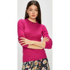 Jacqueline de Yong - Sweter. Różowe swetry klasyczne damskie marki Jacqueline de Yong, l, z dzianiny. Za 89,90 zł.