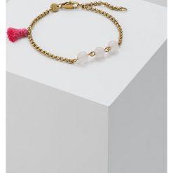 Bransoletki damskie: Dyrberg/Kern CALISTA Bransoletka rose quartz