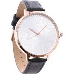 Biżuteria i zegarki: Czarno-Różowy Zegarek Hide It