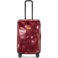 Walizka Icon średnia czerwona. Szare walizki marki Crash Baggage, z materiału. Za 1040,00 zł.