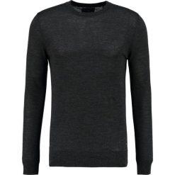 Swetry klasyczne męskie: Scotch & Soda Sweter charcoal melange