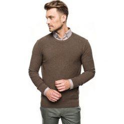 Sweter cilian półgolf brąz. Brązowe swetry klasyczne męskie Recman, m, z golfem. Za 219,00 zł.
