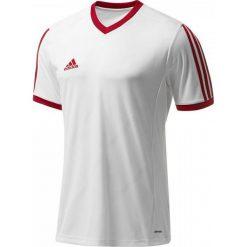 Adidas Koszulka piłkarska męska Tabela 14 biało-czerwona r. XL (F50273). Białe koszulki sportowe męskie marki Adidas, l, z jersey, do piłki nożnej. Za 56,71 zł.