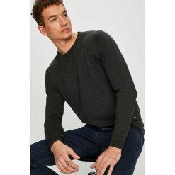 Pierre Cardin - Sweter. Czarne swetry klasyczne męskie marki Pierre Cardin, m, z bawełny, z okrągłym kołnierzem. W wyprzedaży za 299,90 zł.