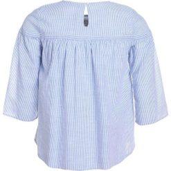 Abercrombie & Fitch SHINE PEASANT Bluzka blue. Niebieskie bluzki dziewczęce bawełniane Abercrombie & Fitch. Za 129,00 zł.