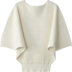 Swetry damskie: Sweter, dekolt w łódkę, cienka dzianina
