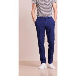 Chinosy męskie: 120% Lino PANTALONE UOMO Spodnie materiałowe crown blue