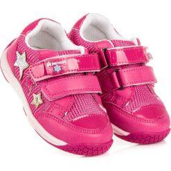 DZIEWCZĘCE OBUWIE AMERICAN American Club różowe. Czerwone buty sportowe dziewczęce marki American CLUB. Za 89,90 zł.