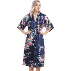 Szlafroki kimona damskie: Szlafrok w kolorze grantowym