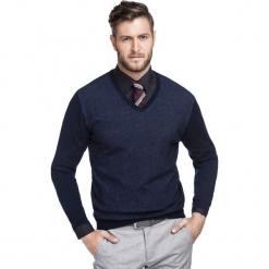 Sweter WALTER SWGR000219. Czarne swetry klasyczne męskie Giacomo Conti, na jesień, m, z poliamidu. Za 199,00 zł.