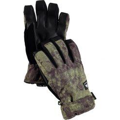 """Rękawiczki męskie: Rękawiczki """"Reverb"""" w kolorze khaki"""