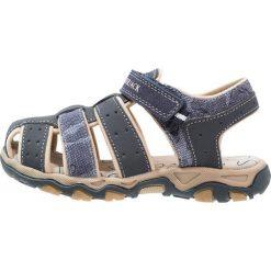 Lumberjack LEVI Sandały trekkingowe navy/blue. Czarne sandały męskie skórzane marki Lumberjack. Za 149,00 zł.