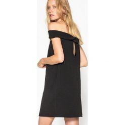 Sukienki hiszpanki: Sukienka prosta gładka krótka, bez rękawów