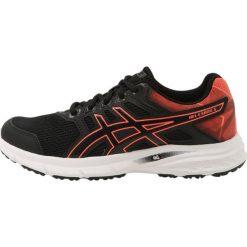 ASICS GELEXCITE 5 Obuwie do biegania treningowe black/flash coral. Czarne buty do biegania damskie Asics, z materiału. Za 349,00 zł.