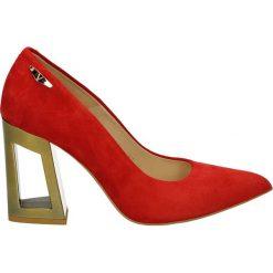 Buty ślubne damskie: Czółenka - 3900-4081 ROS