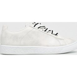 Answear - Buty. Szare buty sportowe damskie marki ANSWEAR, z materiału. W wyprzedaży za 49,90 zł.