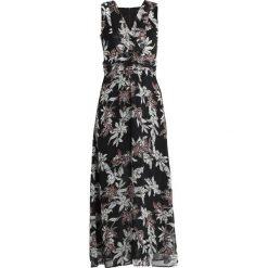 More & More LANG Długa sukienka black multi. Czarne długie sukienki marki More & More, z materiału, z długim rękawem. Za 549,00 zł.