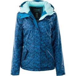 Hi-tec Kurtka damska Lady Laholm Insignia Blue/Faience/Aqua Splash r. L. Niebieskie kurtki sportowe damskie Hi-tec, l. Za 346,55 zł.