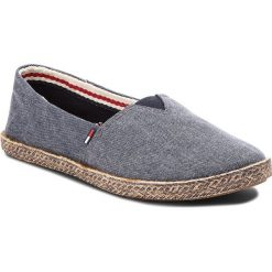 Espadryle damskie: Espadryle TOMMY JEANS - Flexible Casual Slip On EN0EN00200 Midnight 403