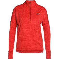 Nike Performance RUNNING THERMA SPHERE Koszulka sportowa gym red/heather/gym red/reflective silver. Czarne topy sportowe damskie marki Nike Performance, l, z materiału, outdoorowe. W wyprzedaży za 287,10 zł.
