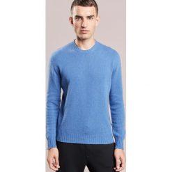 120% Cashmere Sweter saphire. Niebieskie swetry klasyczne męskie marki 120% Cashmere, m, z kaszmiru. W wyprzedaży za 681,85 zł.