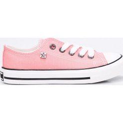 Big Star - Tenisówki. Szare buty sportowe dziewczęce marki BIG STAR, z materiału, z okrągłym noskiem, na sznurówki. W wyprzedaży za 59,90 zł.