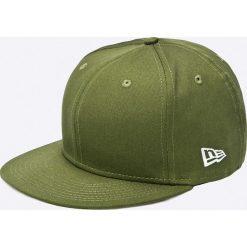 New Era - Czapka. Zielone czapki z daszkiem męskie New Era, z bawełny. W wyprzedaży za 99,90 zł.