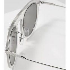 Dolce&Gabbana Okulary przeciwsłoneczne grey/silver. Szare okulary przeciwsłoneczne męskie wayfarery Dolce&Gabbana. Za 1009,00 zł.