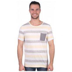 T-shirty męskie: Mustang T-Shirt Męski S Żółty