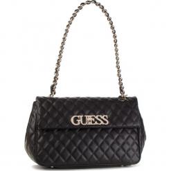 Torebka GUESS - HWVG71 75190 BLA. Czarne torebki klasyczne damskie Guess, z aplikacjami, ze skóry ekologicznej. Za 649,00 zł.