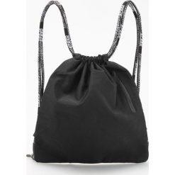 Plecaki męskie: Plecak worek – Czarny