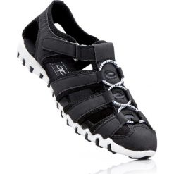 Sandały bonprix czarny. Czarne buty sportowe damskie marki bonprix. Za 74,99 zł.