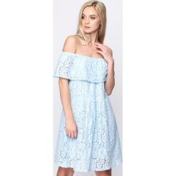 Jasnoniebieska Sukienka Super Natural. Niebieskie sukienki letnie marki Born2be, m. Za 44,99 zł.