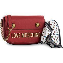 Torebka LOVE MOSCHINO - JC4345PP05K60500 Rosso. Czerwone listonoszki damskie marki Love Moschino. Za 609,00 zł.