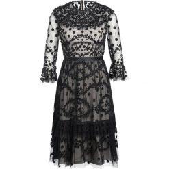 Sukienki hiszpanki: Needle & Thread SHADOW Sukienka koktajlowa black