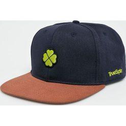 True Spin - Czapka. Szare czapki z daszkiem męskie marki True Spin, z bawełny. W wyprzedaży za 49,90 zł.