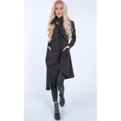 Czarna asymetryczna sukienka koszulowa na co dzień 0222. Czarne sukienki asymetryczne Fasardi, na co dzień, m, z asymetrycznym kołnierzem. Za 199,00 zł.